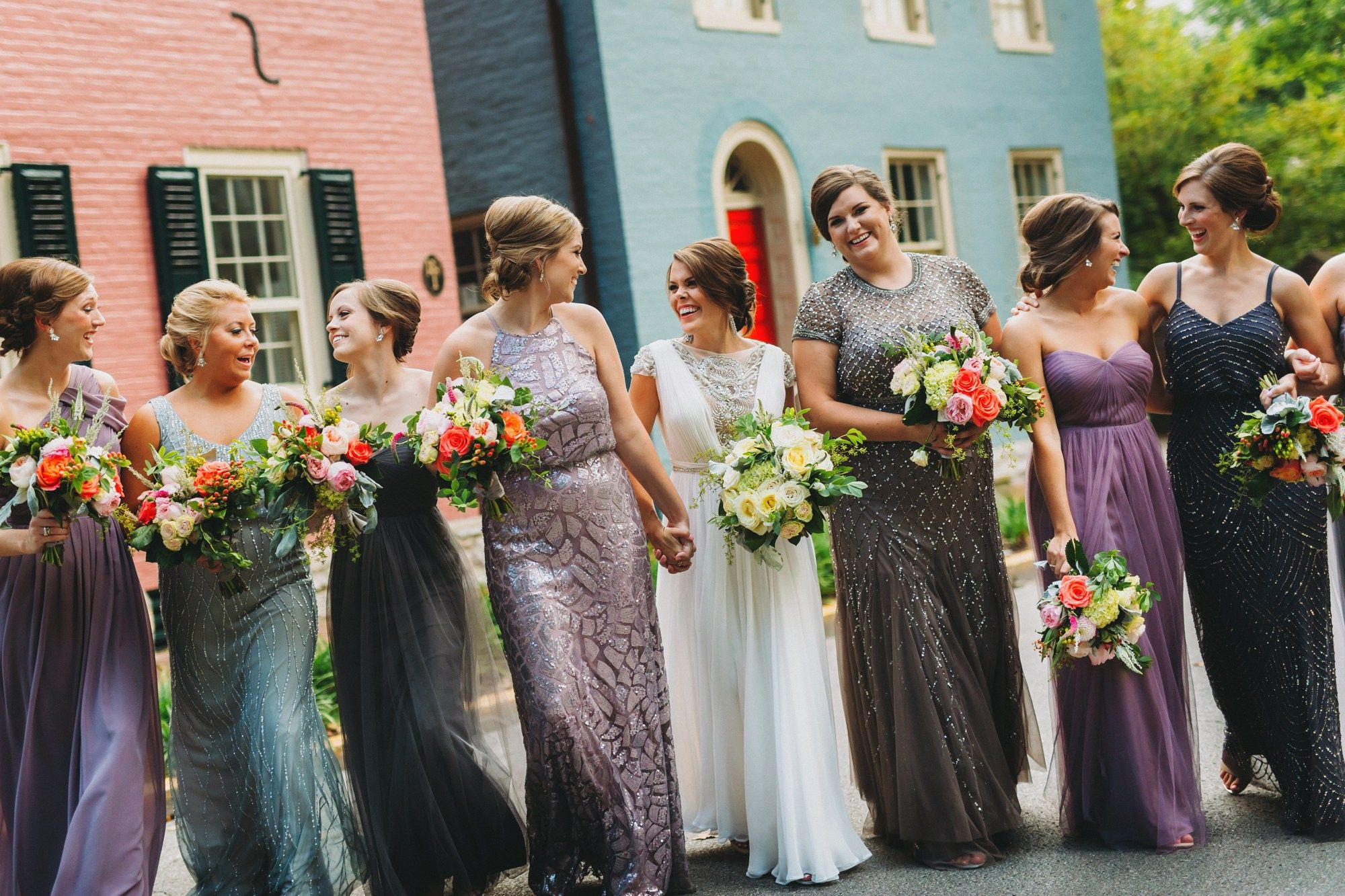 how to mix & match your bridesmaids' dresses   Glitter & Gingham ...