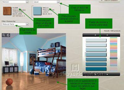 Decoracion De Interiores De Habitaciones Y Hacer Diseno Online