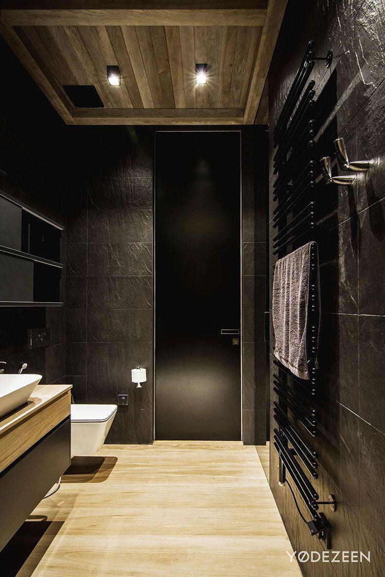 Bagni Neri Moderni 25 Foto di Progetti di Design  Bagni