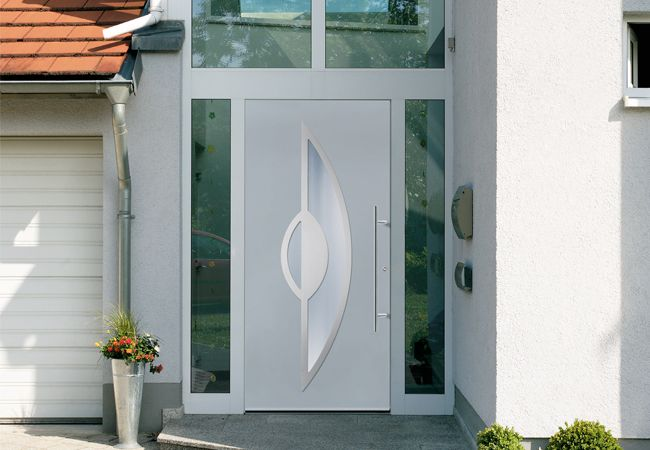 Modern Entry Doors by Groke - Front Entry Doors   House   Pinterest   Modern entry Front entry and Doors & Modern Entry Doors by Groke - Front Entry Doors   House ... pezcame.com