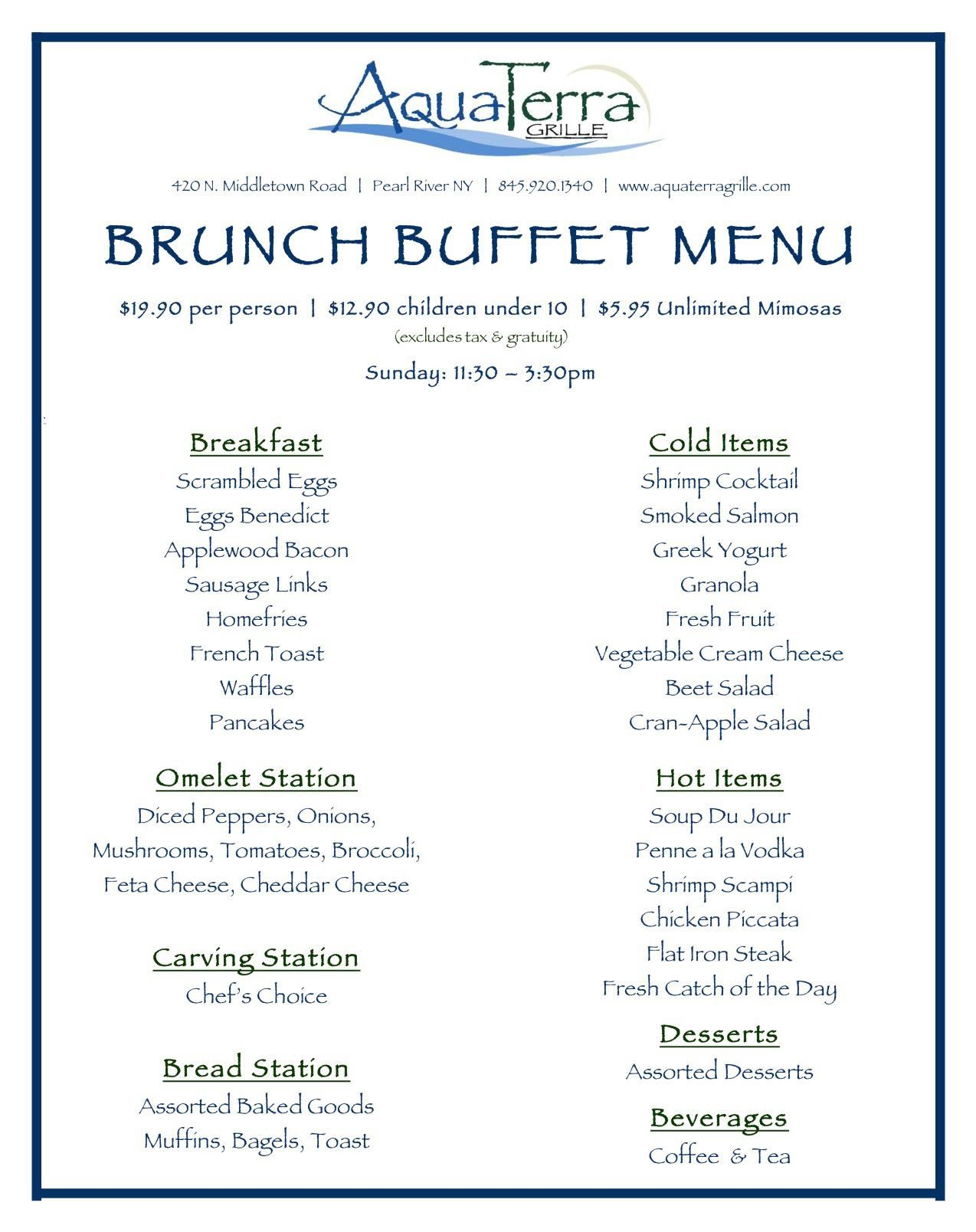 brunch menu buffet google search kelly s baby shower pinterest rh pinterest com brunch buffet menus hotels brunch buffet menu samples