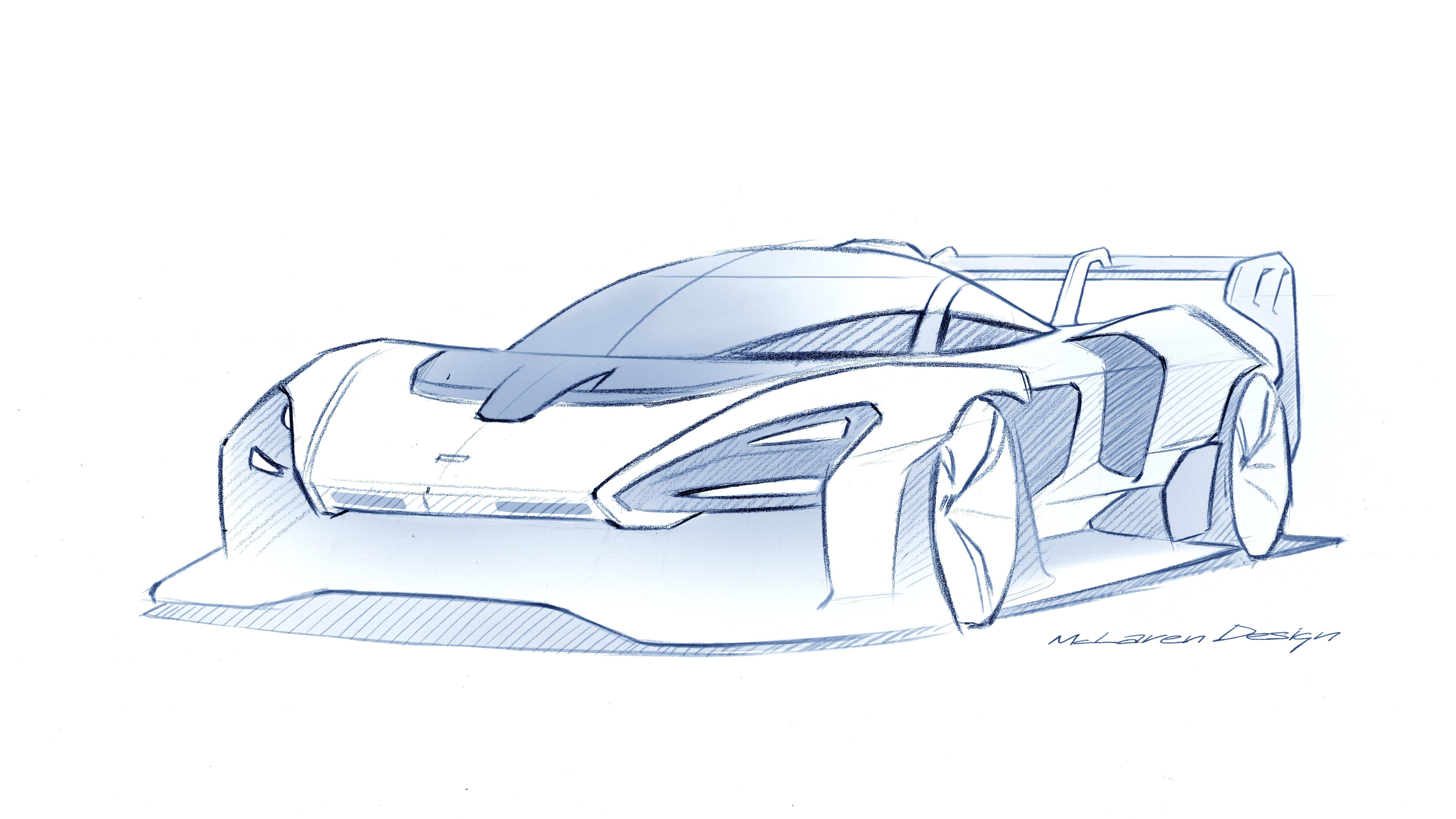 2020 Mclaren Senna Gtr Top Speed Car Design Design Sketch Car Drawings