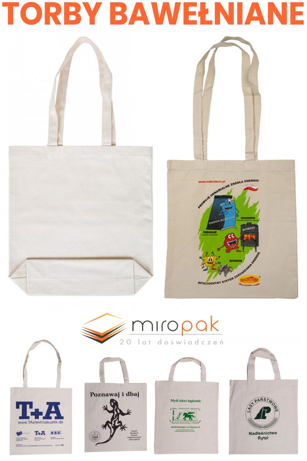 Marketingowe Torby Bawelniane Z Nadrukiem Miropak Pl Tote Bag Reusable Tote Bags Tote