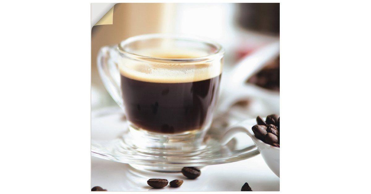 Artland Wandfolie »Tanja Riedel: Frischer Espresso Genuss« online kaufen | OTTO #espressocoffee