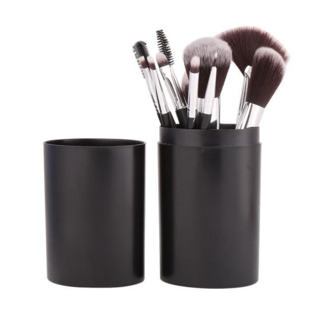 Professionelle Make-up Pinsel – 12 Stk