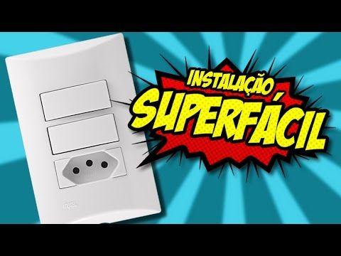 Interruptor Duplo Com Tomada Super Facil Interruptor Duplo Interruptor Super Facil