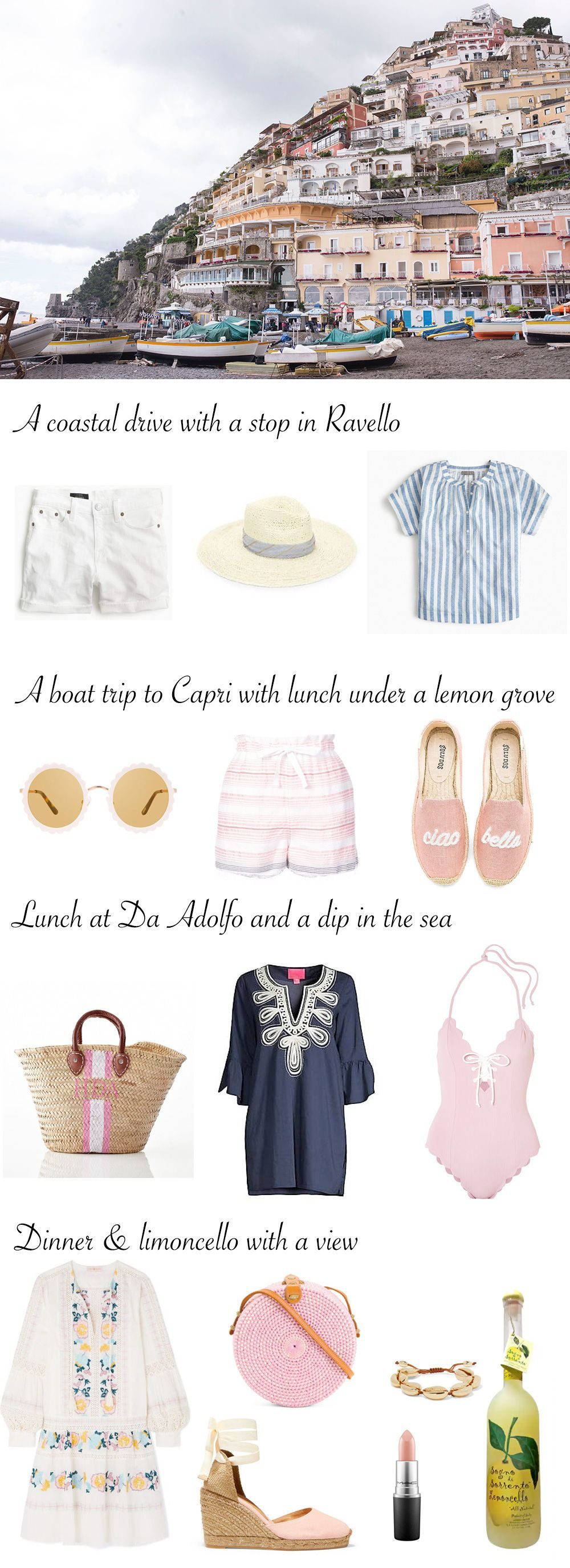 Photo of What to Pack for the Amalfi Coast | Traveling Chic