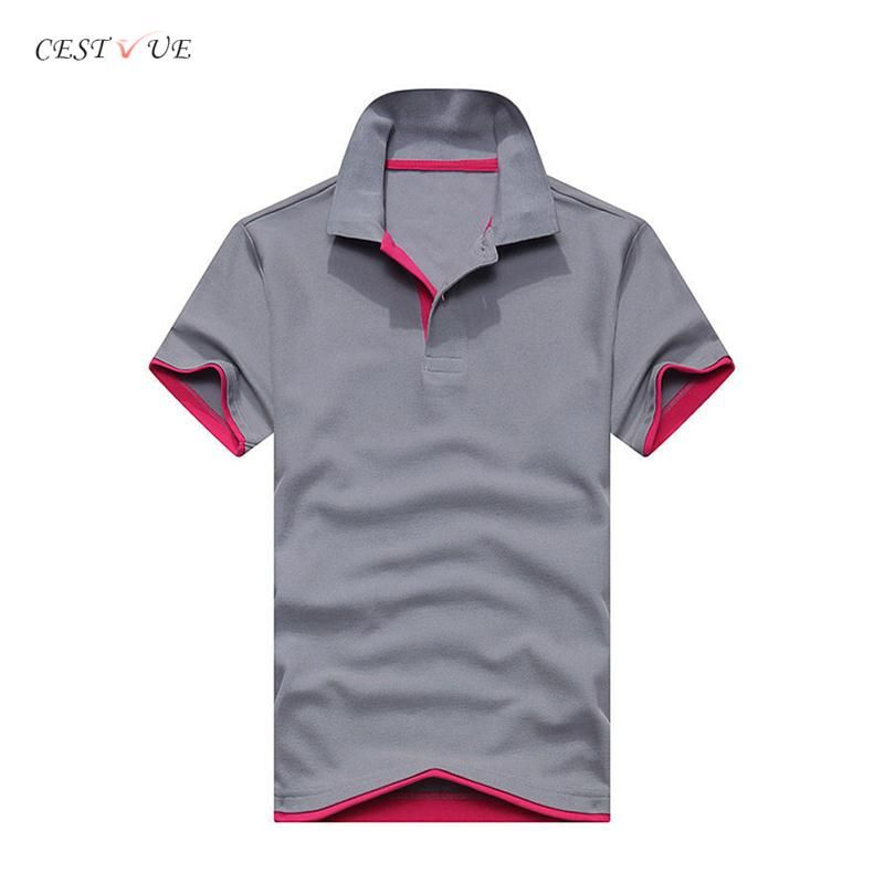 Stock Lot Blank Polo Shirt Custom Logo Cotton Polyester Polo Shirts