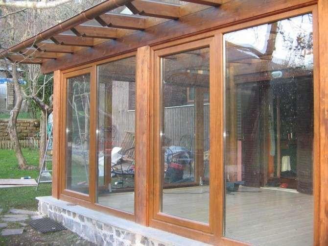 Verande in legno   Veranda, Caminetti rustici e Idee per ...