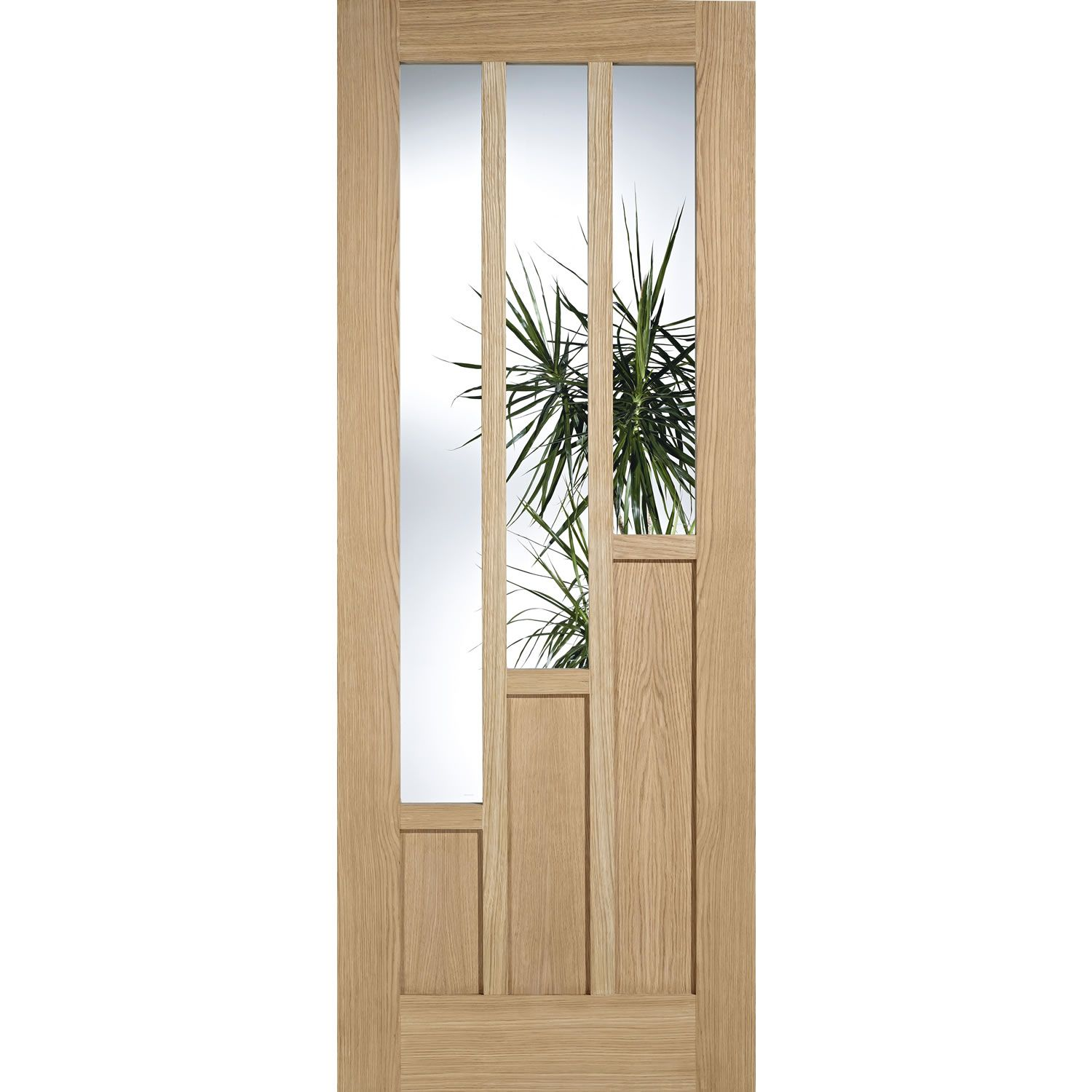 LPD Coventry Oak Glazed Internal Door - DoorsWorld