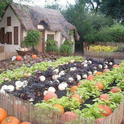 Cottage Image On We Heart It Vegetables GardenVegetable