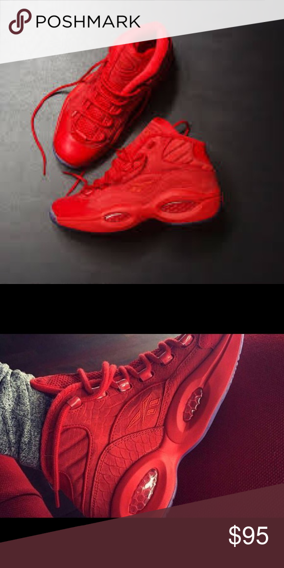 Teyana Taylor Reebok Question Mid Excellent condition. Only worn twice. Reebok  Shoes Sneakers 13cf4b882