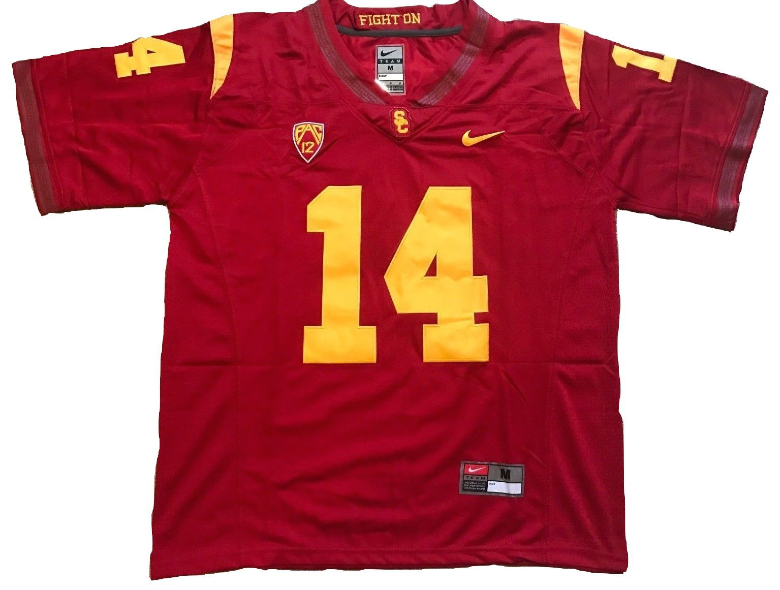best website 28434 3d075 USC Trojans Jersey - #14 Sam Darnold College Football Jersey ...