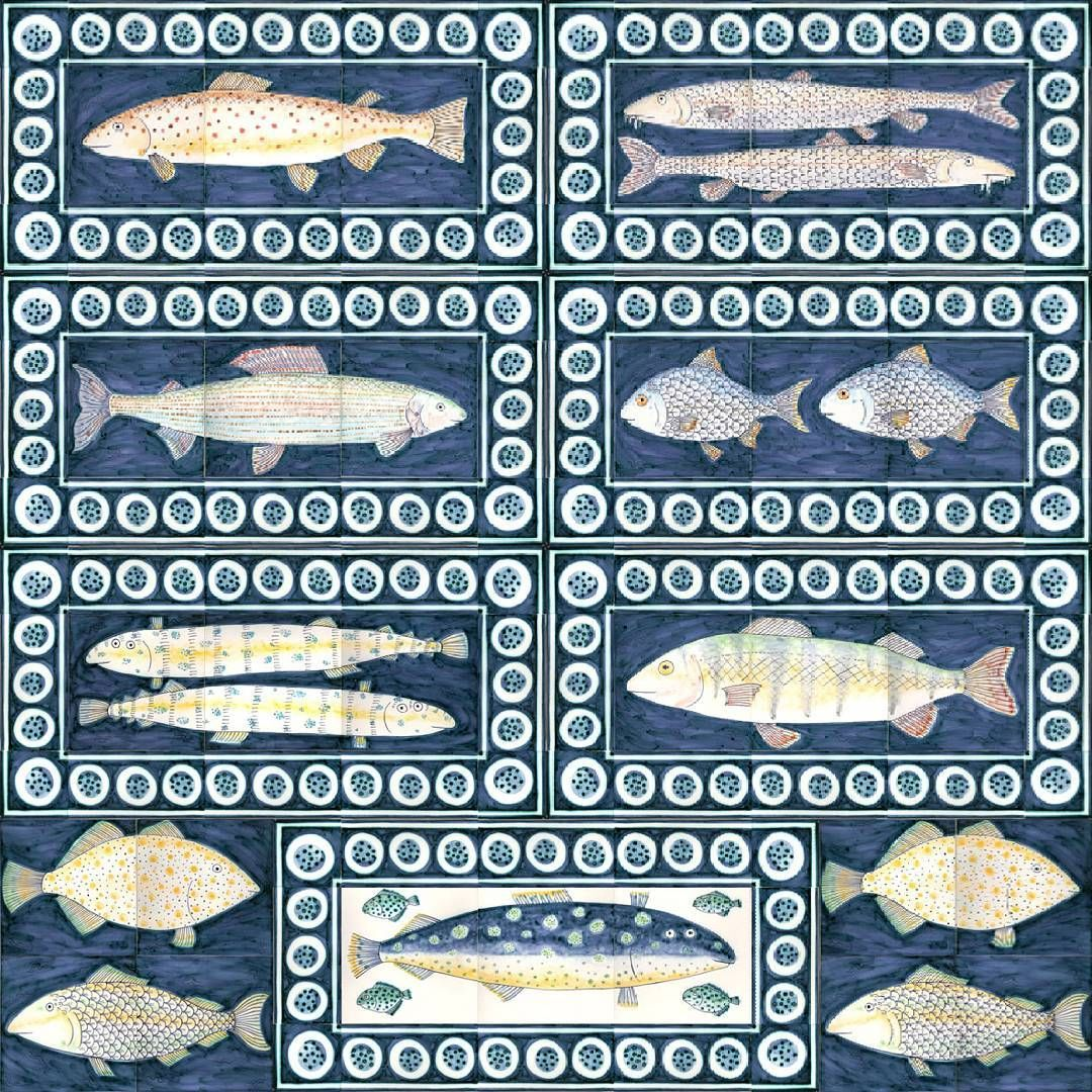 Fish panels by Reptile tiles | Something Fishy | Pinterest ...