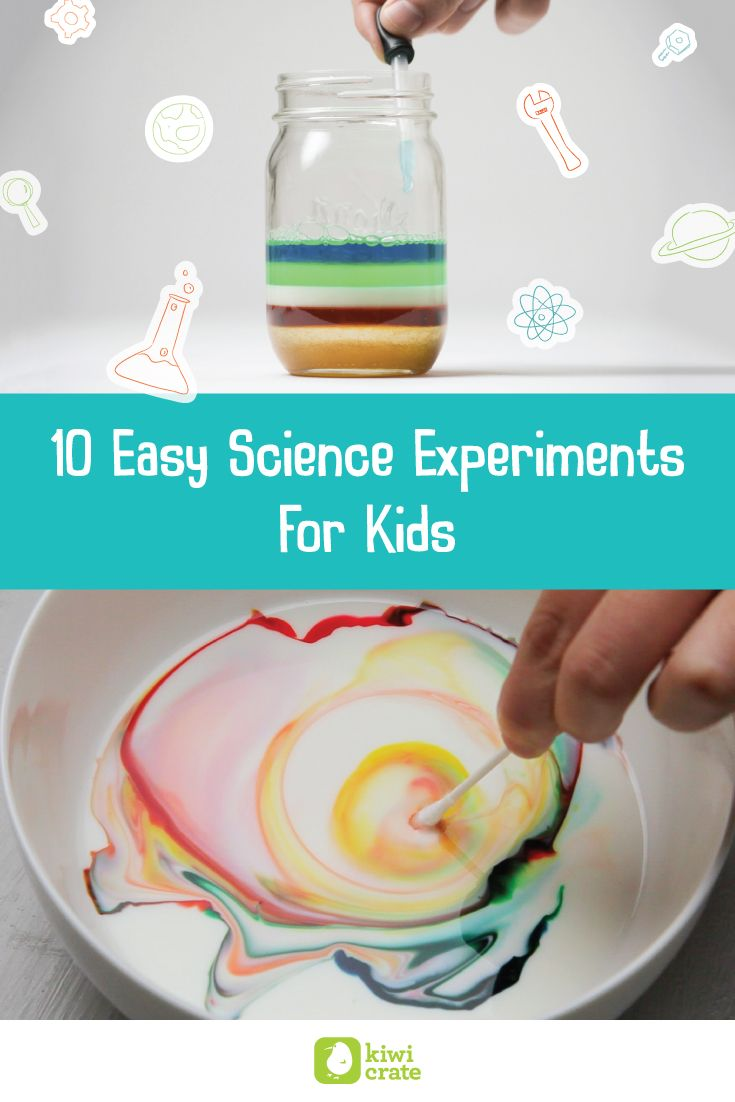 10 Easy Science Experiments for Kids I Kiwi Crate   Science