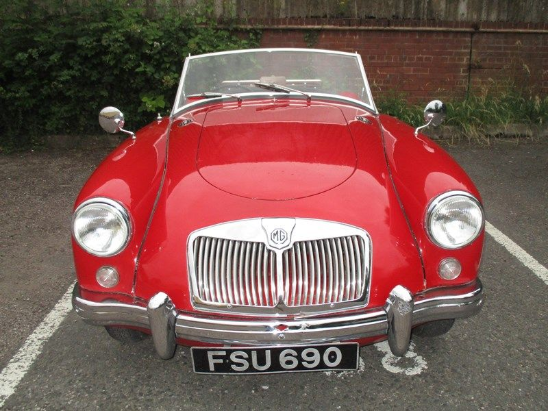 1957 Mg Mga for Sale Classic Cars for Sale UK Cars for