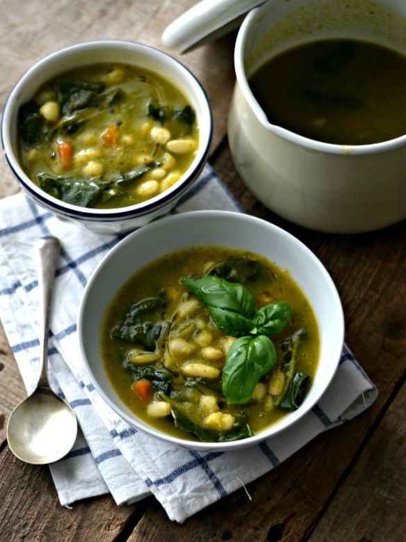 Sopa de feijão branco e couve - Compassionate Cuisine