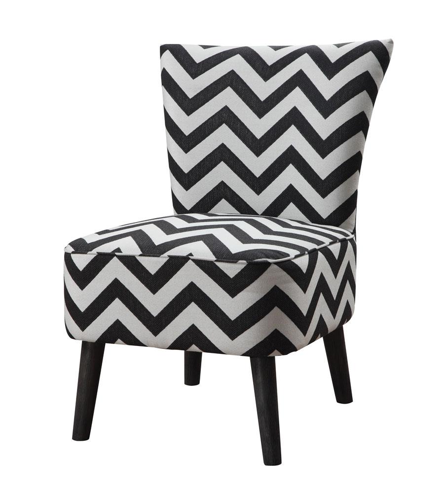 Fine Chevron Accent Chair Emerald Home Furnishings Home Theyellowbook Wood Chair Design Ideas Theyellowbookinfo