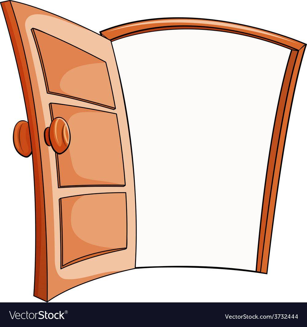 An Open Door Vector Image On Vectorstock Vector Free Vector