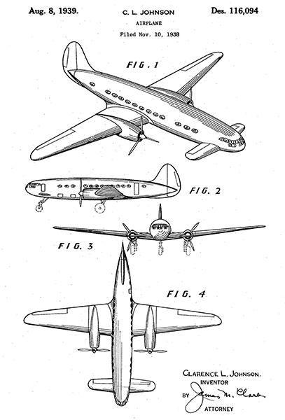 Douglas DC-2 Airplane Poster Print Passenger Plane Aviation Gifts Pilot Gift