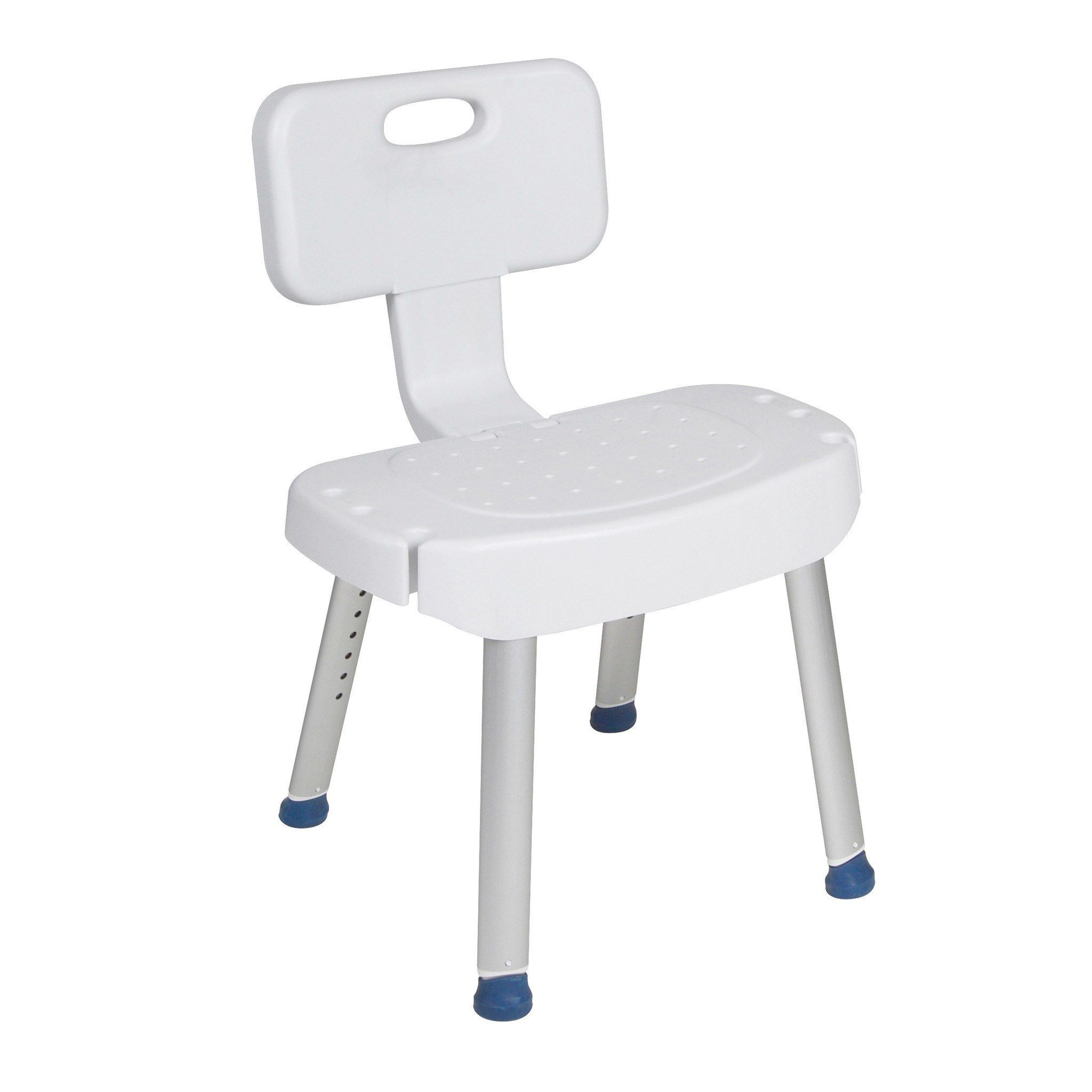Drive Medical rtl12606 Bathroom Safety Shower Chair with Folding ...