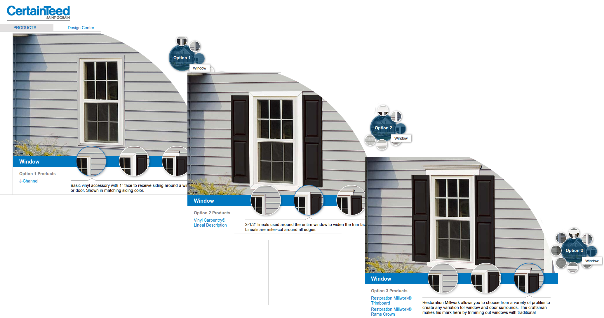 Certainteed Leads You Through The Options Of Their Economical Line Of Home Remodelling Materials To Enhance Your Home S Fascia Pvc Trim Millwork Certainteed