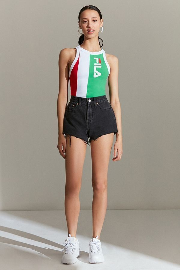 612e45a9d088 FILA + UO Alana Colorblock Bodysuit   New Arrivals   Fashion ...