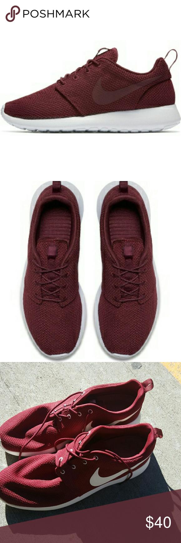 Nike Men's Roshe Maroon Nike men, Nike roshe mens, Nike