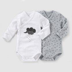 Body naissance (lot de 2) 0 mois-3 ans R baby - Bébé  a67139433c0