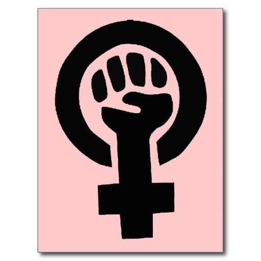 Girl Power Feminist Symbol T-Shirt, White, Size: Adult L ... |Geek Power Girl Symbol
