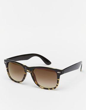 96ed9b36ae Gafas de sol estilo wayfarer de Jeepers Peepers | Gafas | Gafas ...