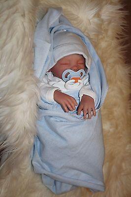 Reborn Leap Year Preemie Baby by Forget-Me-Not Nursery