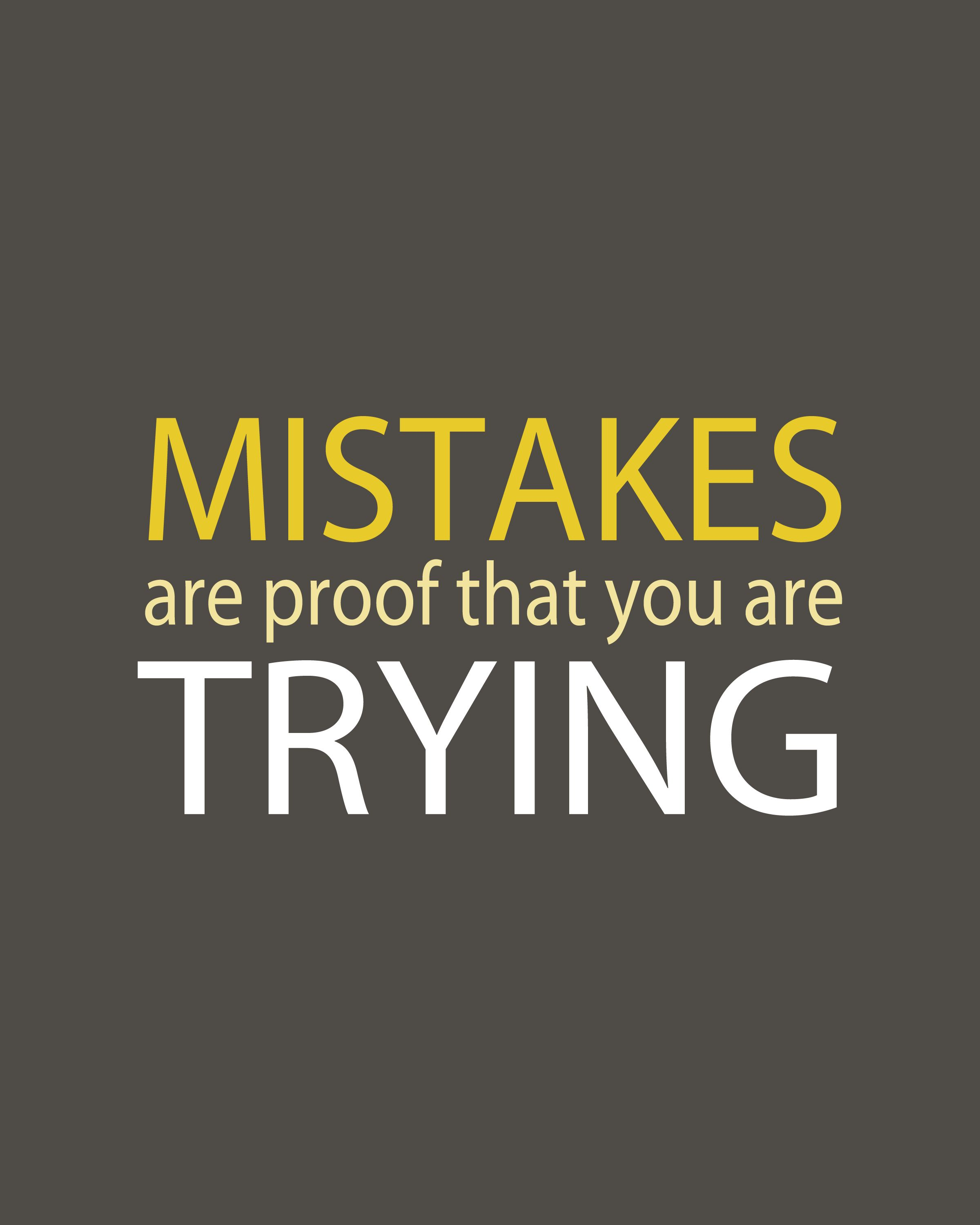 What Your Mistake Really Means