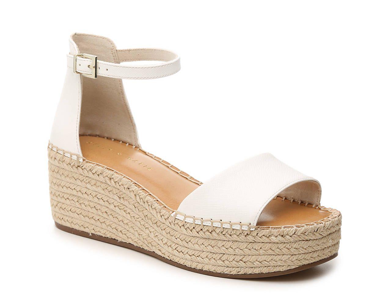 Katie Fedrick Espadrille Wedge Sandal