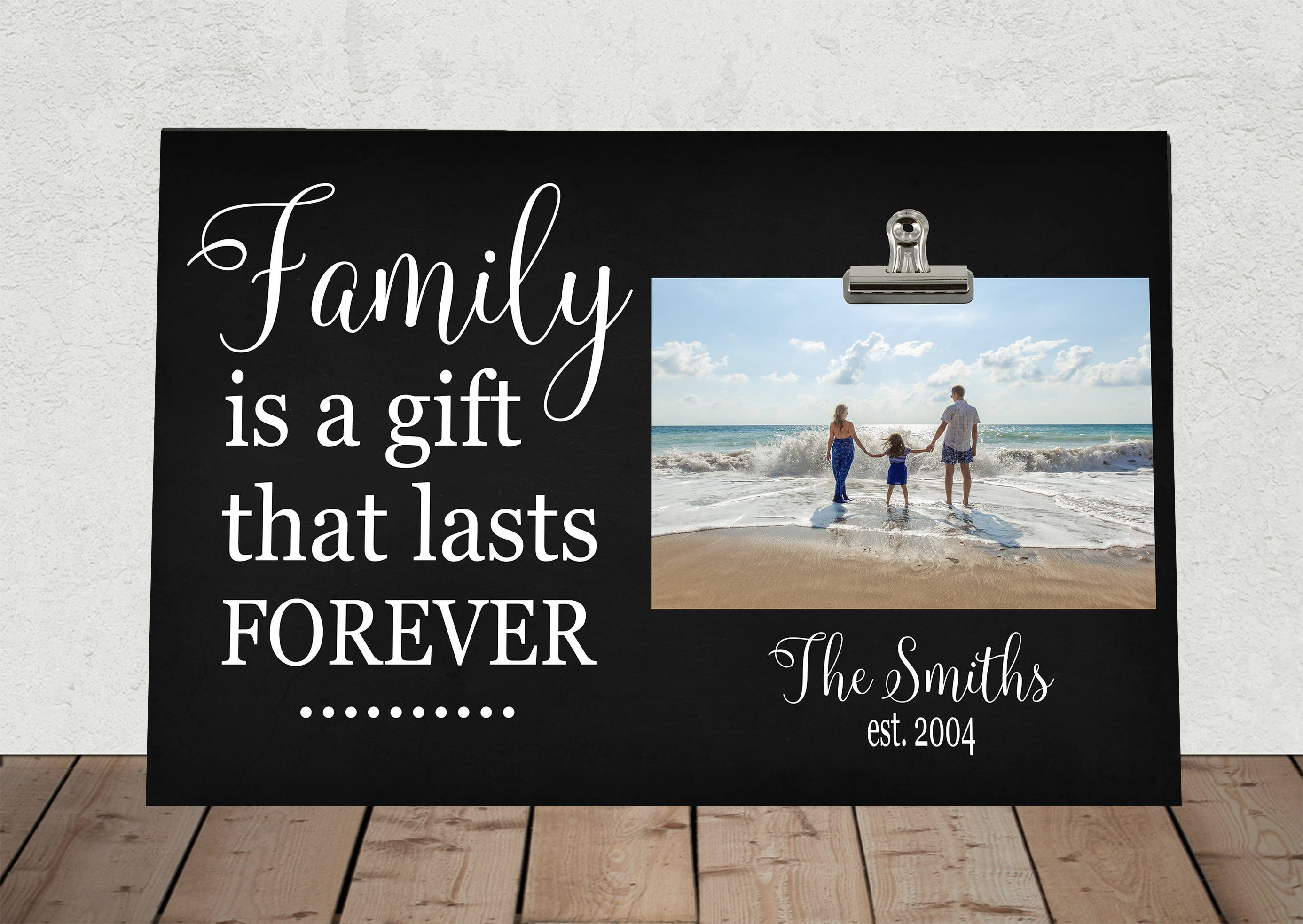 Items Similar To Mothers Day Gift, Personalized Frame, Family Is