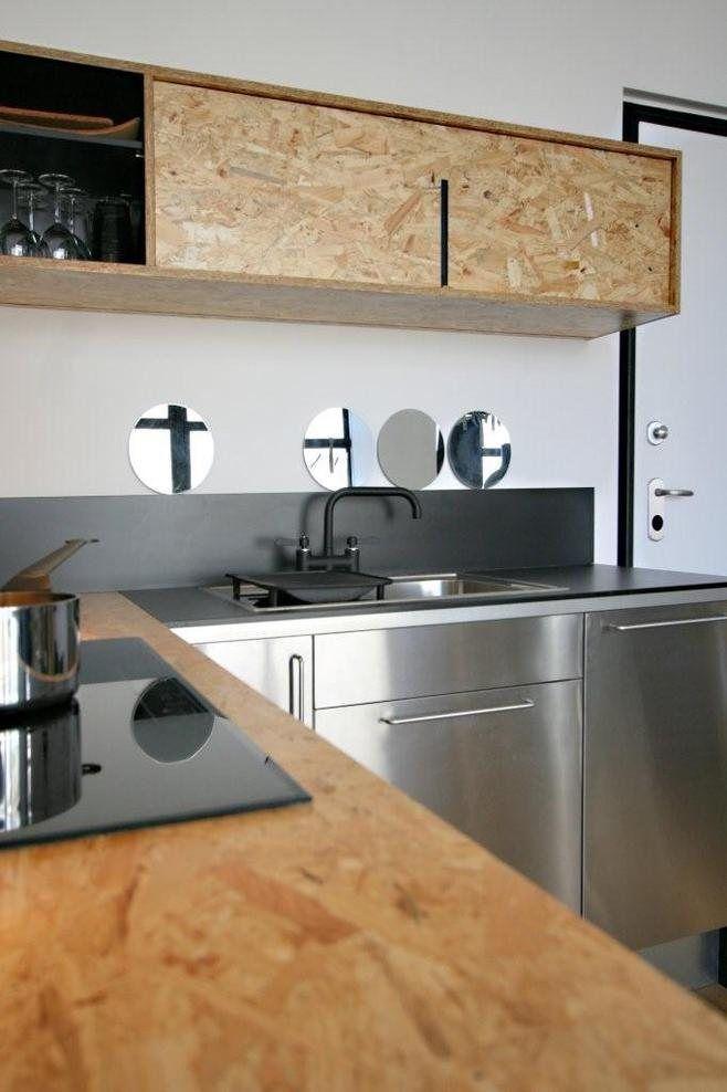 inspirations osb kitchen pinterest osb cuisines et am nagement. Black Bedroom Furniture Sets. Home Design Ideas