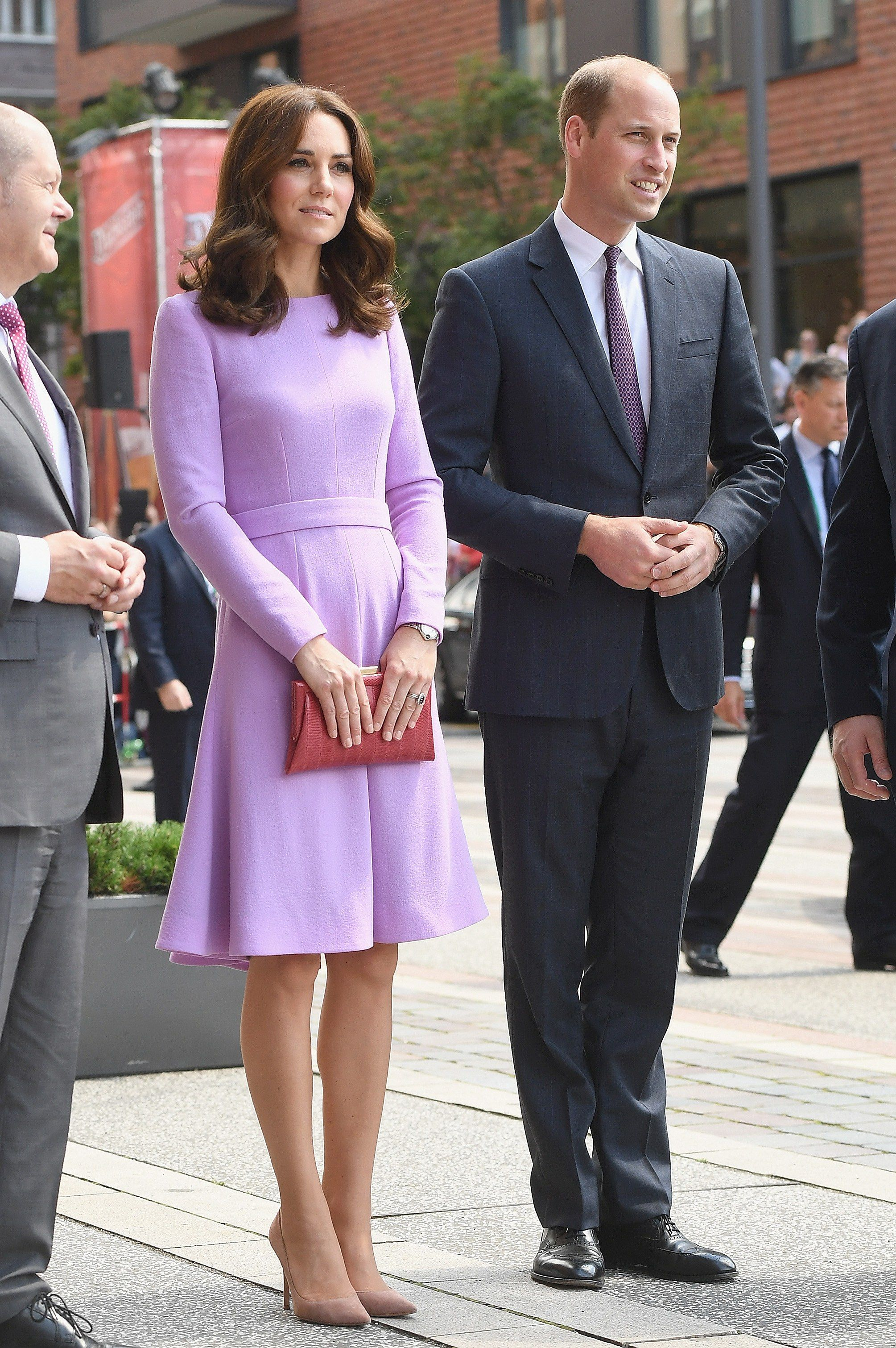 Kate Middleton s Lilac Dress Is a Stealth Style Hit in Germany ... 56d29b8b7