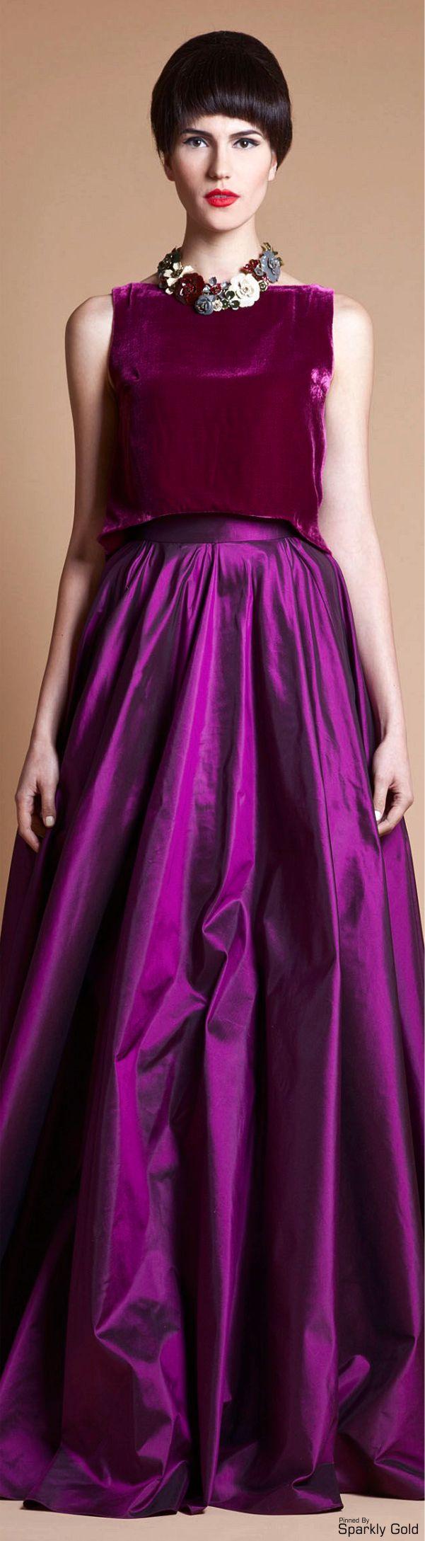 Azzi & Osta--ooooh that color! | fashion | Pinterest | Vestidos para ...