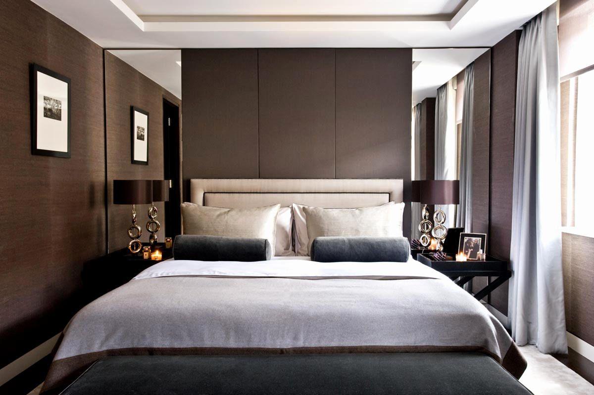 100 idee camere da letto moderne stile e design per un - Pareti particolari per camere da letto ...