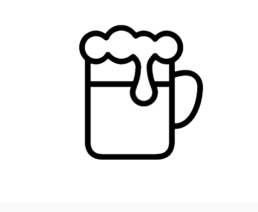 Beer Icon In Iphone Style This Is A Beer Icon We Ve Made It In Ios Style First Introduced In Ios Version 7 And Supported In All L Beer Icon Iphone Style