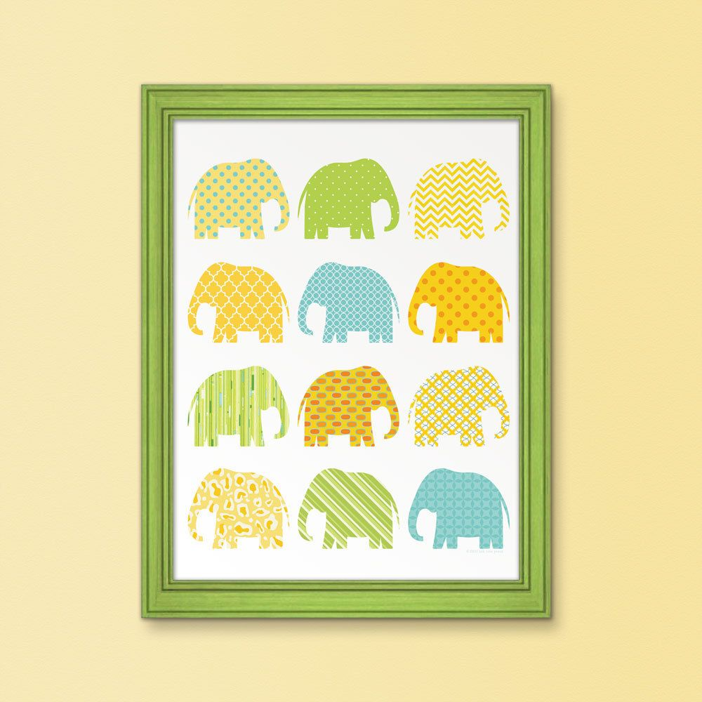 Use wrapping paper or fabric to cut shapes of animals and frame for ...