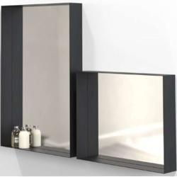 Photo of Unu mirror with frame 50 black