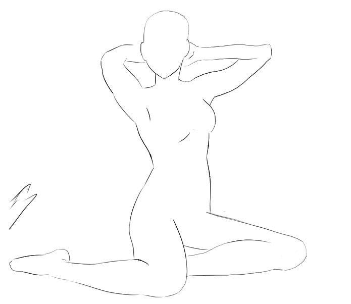 body template anime - Buscar con Google | Diseño Personajes ...
