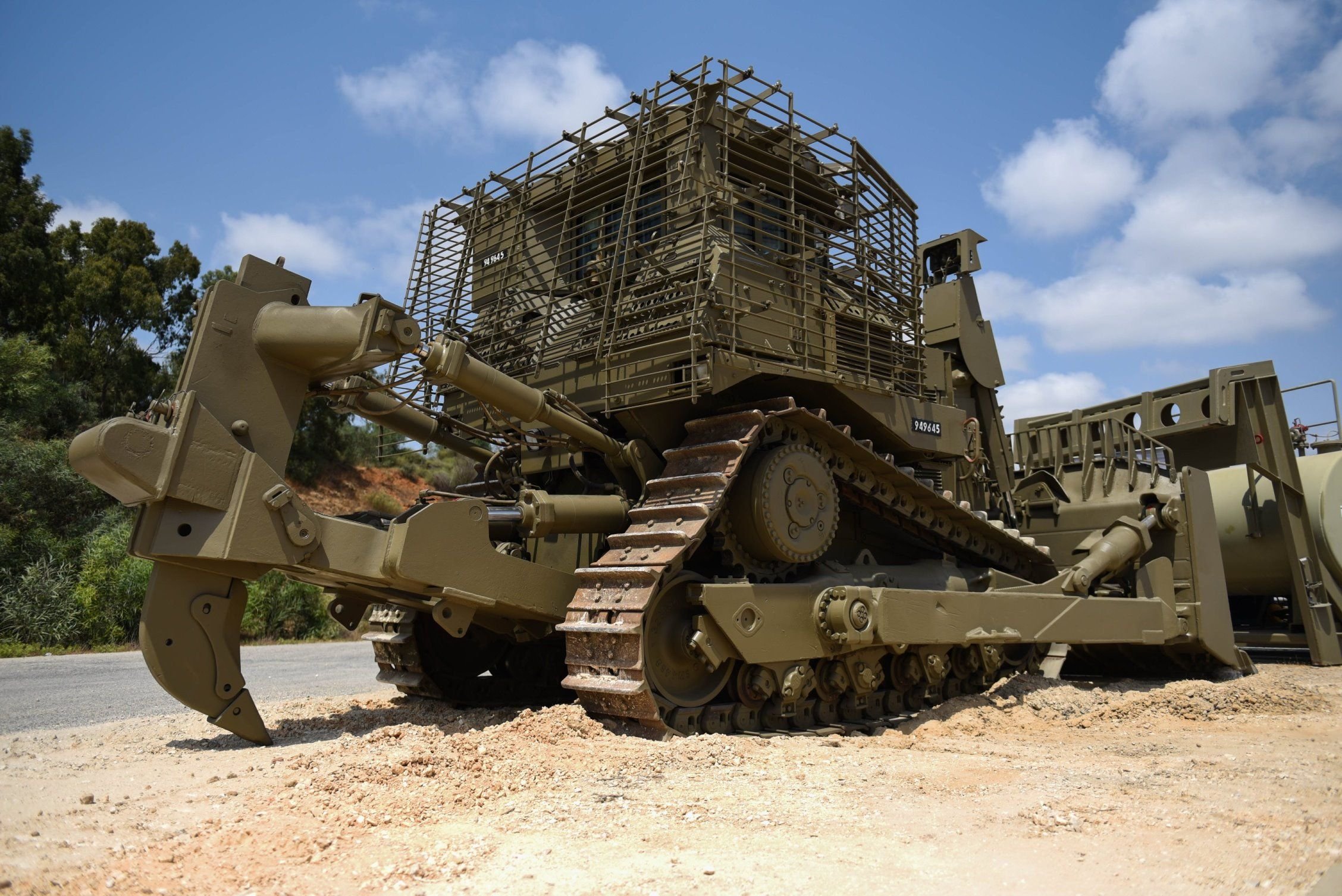 Armored D9 bulldozer the IDF engineering forces | Our IDF