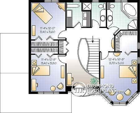 House plan W2880 detail from DrummondHousePlans.com