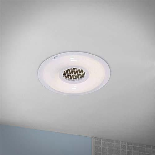 Bright Star Round Bathroom Extractor
