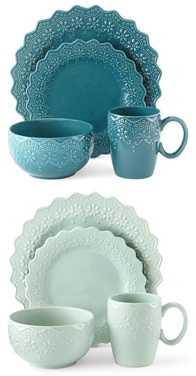 5deac9b5b7f5 Chantilly Lace 16-pc. Dinnerware Set