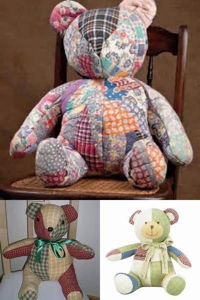 memory bear pattern free - Bing images | sewing/crafts | Pinterest ...