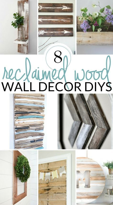 DIY Farmhouse Wall Decor Inspiration | Home - Fixer Upper Style ...