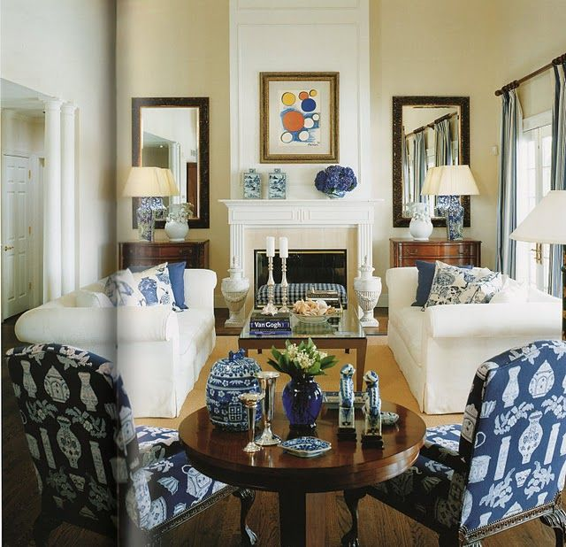 Like This Look Two Couches Two Mirrors The Mantle Setup The Use